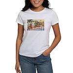 Greetings from Florida Retro Women's T-Shirt