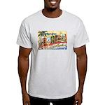 Greetings from Florida Retro Light T-Shirt