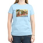 Greetings from Florida Retro Women's Light T-Shirt
