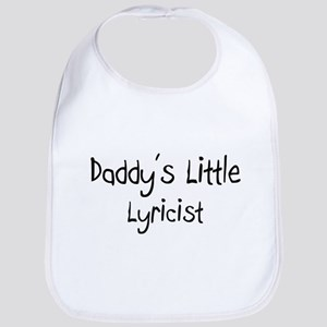 Daddy's Little Lyricist Bib