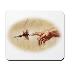 The Creation of fly fishing Mousepad