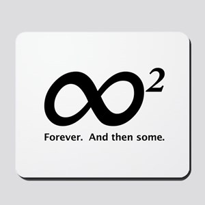 INFINITY SQUARED Mousepad