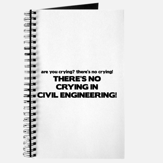 There's No Crying in Civil Engineering Journal