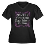 World's Greatest Daughter-in-Law Women's Plus Size
