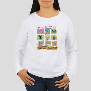 Animal Shelter Women's Long Sleeve T-Shirt