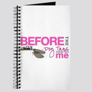 Before The Dog Tags Journal