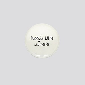 Daddy's Little Leatherier Mini Button
