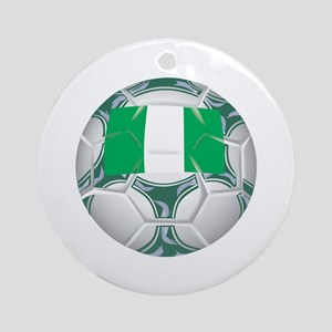 Nigeria Championship Soccer Keepsake (Round)