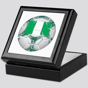 Nigeria Championship Soccer Keepsake Box