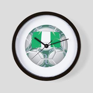Nigeria Championship Soccer Wall Clock