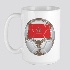 Morocco Championship Soccer Large Mug