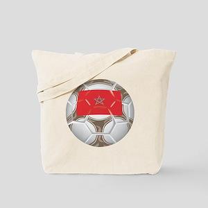Morocco Championship Soccer Tote Bag