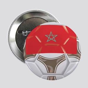 """Morocco Championship Soccer 2.25"""" Button (10 pack)"""