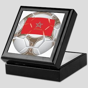 Morocco Championship Soccer Keepsake Box