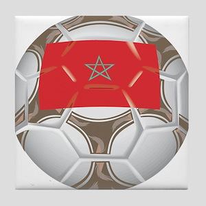 Morocco Championship Soccer Tile Coaster