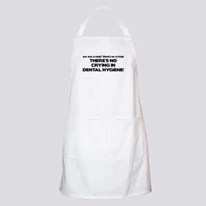 There's No Crying Dental Hygiene BBQ Apron
