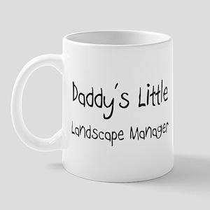 Daddy's Little Landscape Manager Mug