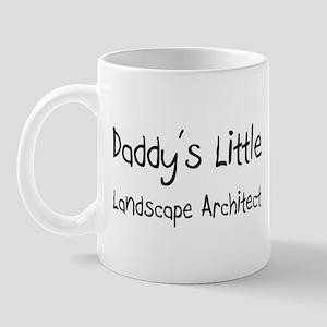 Daddy's Little Landscape Architect Mug