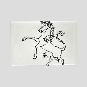 Unicorn #22 Rectangle Magnet