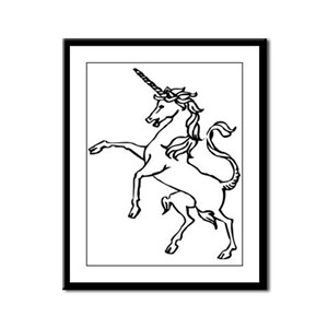 Unicorn #22 Framed Panel Print