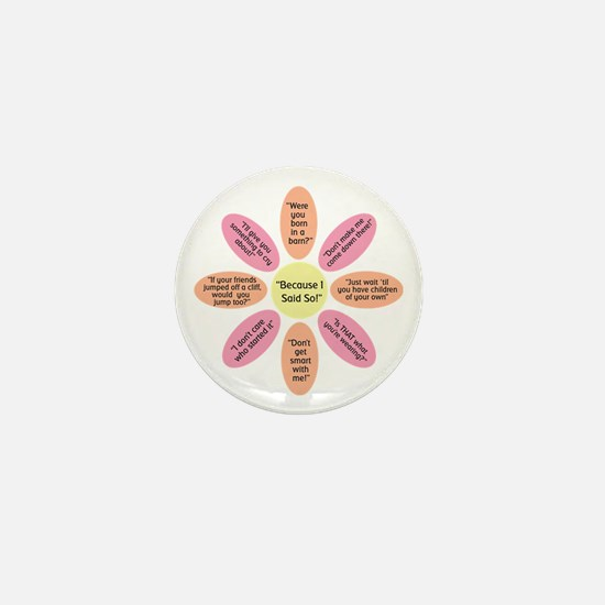 Cute Said Mini Button