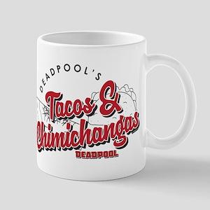 Deadpool Tacos 11 oz Ceramic Mug