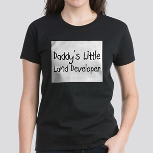 Daddy's Little Land Developer Women's Dark T-Shirt