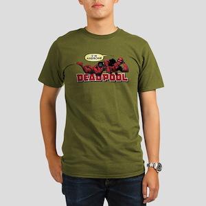 Deadpool Awesome Organic Men's T-Shirt (dark)