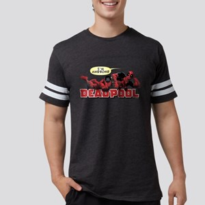 Deadpool Awesome Mens Football Shirt
