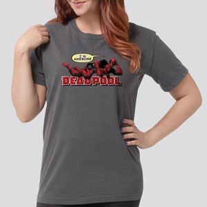 Deadpool Awesome Womens Comfort Colors Shirt