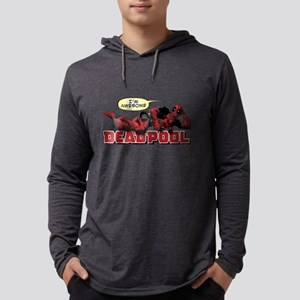 Deadpool Awesome Mens Hooded Shirt