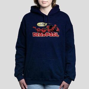 Deadpool Awesome Women's Hooded Sweatshirt