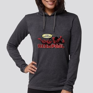 Deadpool Awesome Womens Hooded Shirt