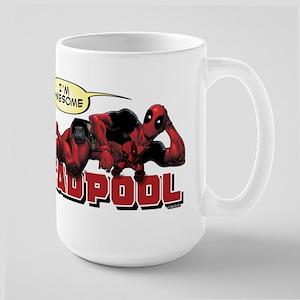 Deadpool Awesome 15 oz Ceramic Large Mug