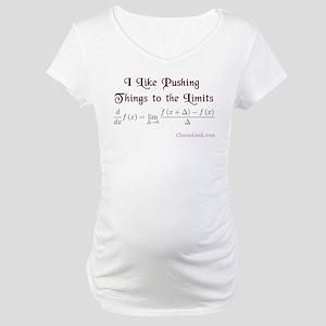 Push The Limits Maternity T-Shirt