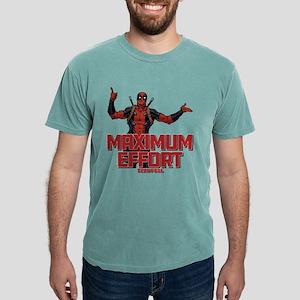Deadpool Maximum Effort Mens Comfort Colors Shirt