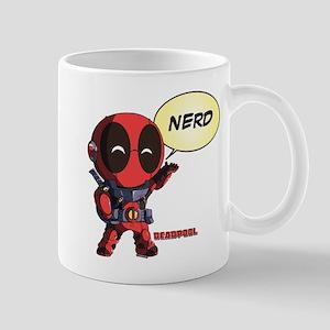 Deadpool Nerd 11 oz Ceramic Mug