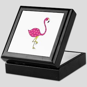 flamingooursF Keepsake Box