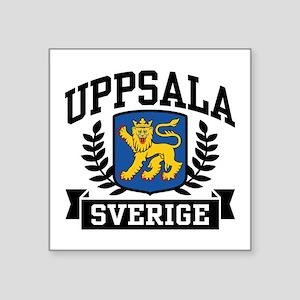 """Uppsala Sverige Square Sticker 3"""" x 3"""""""