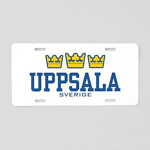 Uppsala Sverige Aluminum License Plate