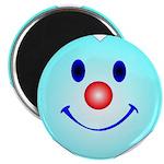 Smiley blue Magnets