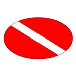 Dive Sticker, Scuba Diving Apparel (50 pk)