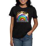 GOD RAINBOW SEX Women's Dark T-Shirt