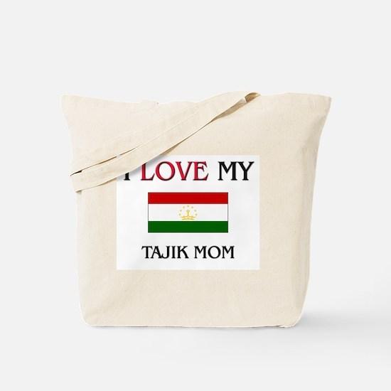 I Love My Tajik Mom Tote Bag