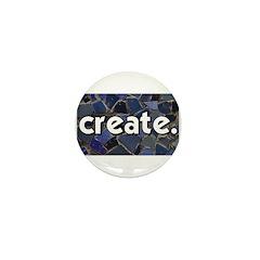 Create - Mosaic Tile Mini Button (100 pack)