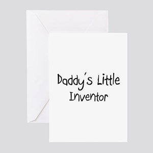 Daddy's Little Inventor Greeting Cards (Pk of 10)
