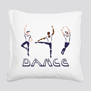 Dance Square Canvas Pillow