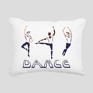 Dance Rectangular Canvas Pillow