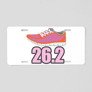 Marathon 26.2 Aluminum License Plate