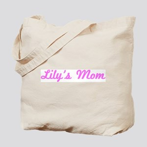 Lily Mom (pink) Tote Bag